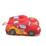 Анатомични детски домашни пантофи ДФ Rally2 червена кола 29/35