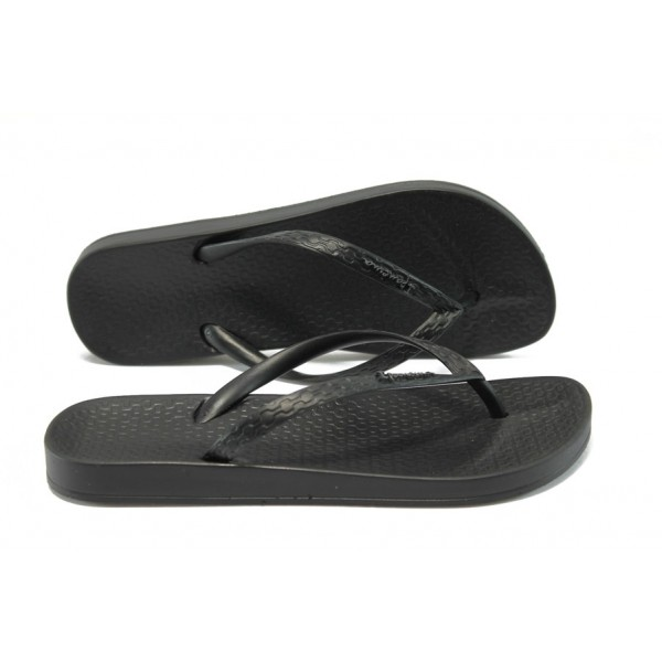 Анатомични дамски бразилски чехли Ipanema 81030 черен