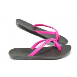 Дамски анатомични чехли Ipanema 81501 розово-черен