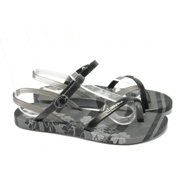 Анатомични дамски бразилски сандали Ipanema 81474 черен