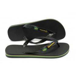 Юношески бразилски чехли Ipanema 80415 черен