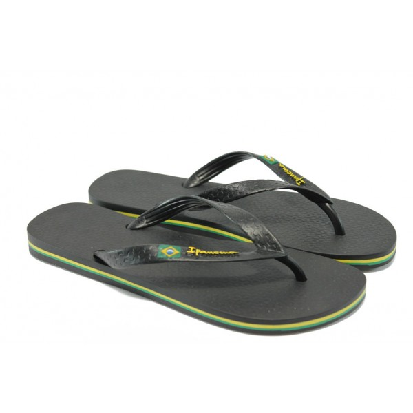 Мъжки ароматизирани чехли Ipanema 80415 черен