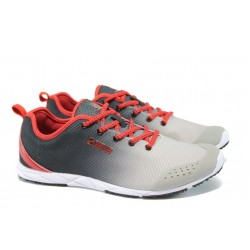 Дамски маратонки Runners 13-06 сив-черен