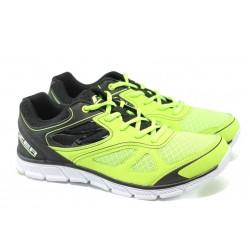 Дишащи мъжки маратонки Bulldozer 00743 зелен