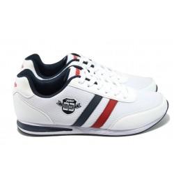 Мъжки спортни обувки Jump 10427 бял