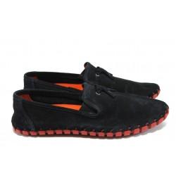 Мъжки обувки /тип мокасини/ Jump 10873 черен