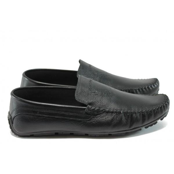Мъжки обувки /тип мокасини/ Jump 11137 черен