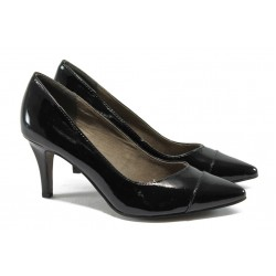 Дамски обувки на висок ток Tamaris 1-22447-24 черен