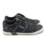 """Мъжки спортни обувки с """"мемори"""" пяна S.Oliver 5-14601-24 черен"""