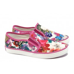 Дамски спортни обувки с мемори пяна S.Oliver 5-24604-24 цветя