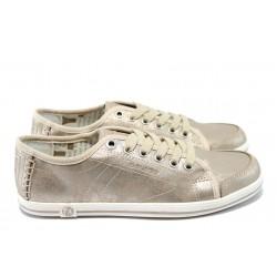 Дамски спортни обувки с мемори пяна S.Oliver 5-23600-34 бежов
