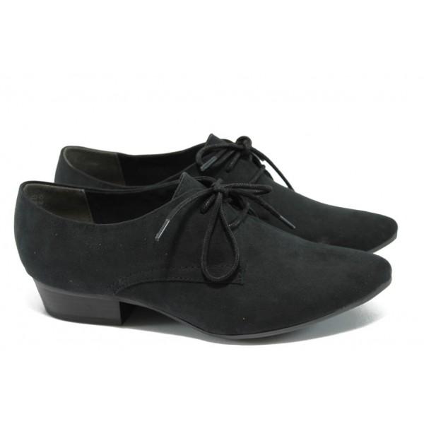 Дамски обувки с мемори пяна Marco Tozzi 2-23300-24 черен