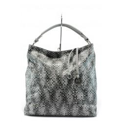 Дамска чанта - тип торба Marco Tozzi 2-61122-26 черна