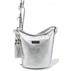 Немска дамска чанта Marco Tozzi 2-61104-26 сребро