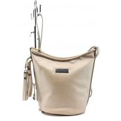 Немска дамска чанта Marco Tozzi 2-61104-26 златно