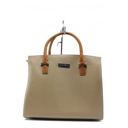 Немска дамска чанта Marco Tozzi 2-61007-26 бежов