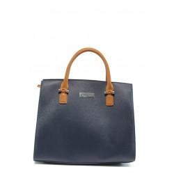 Немска дамска чанта Marco Tozzi 2-61007-26 син