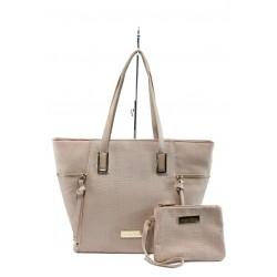 Немски дамски чанти Marco Tozzi 2-61106-26 розов