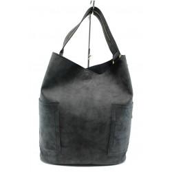Българска дамска чанта СБ 1198 черен | Дамски чанти | MES.BG