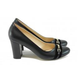 Дамски обувки на висок ток МИ 846 черен