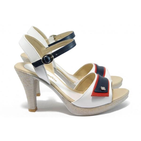 Дамски сандали на висок ток МИ 1019 томи