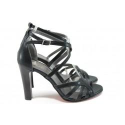Елегантни дамски сандали ЕО 509 черен