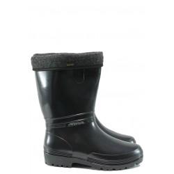 Гумени ботуши с топъл свалящ се чорап Demar 0052 черен 36/41 | Гумени ботуши | MES.BG
