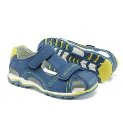 Детски сандали с анатомична стелка КА 597 т.син 31/36