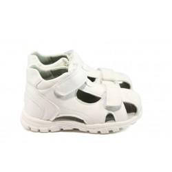 Бебешки обувки с анатомични стелки КА 610 бял 19/24