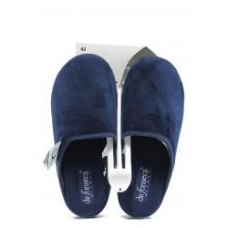 Анатомични мъжки домашни чехли ДФ Torino M01 т.син | Домашни чехли | MES.BG