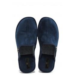 Анатомични мъжки домашни чехли Spesita TAD син | Домашни чехли | MES.BG