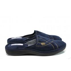 Анатомични мъжки домашни чехли Spesita Manuel син | Домашни чехли | MES.BG