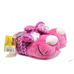 Анатомични домашни пантофи ДФ Canero G02 розов | Домашни чехли | MES.BG