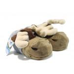 Анатомични домашни пантофи ДФ Sven K80 сив | Домашни чехли | MES.BG