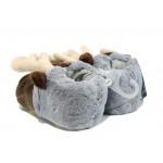 Анатомични домашни пантофи Defonseca Sven K80 сив | Домашни чехли | MES.BG