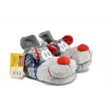 Анатомични домашни пантофи ДФ Canbuono B06 сив | Домашни чехли | MES.BG