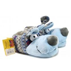 Анатомични домашни пантофи ДФ Canbuffo K03 син | Домашни чехли | MES.BG