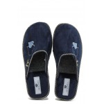 Анатомични дамски домашни чехли Spesita Lidia син | Домашни чехли | MES.BG