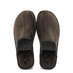 Анатомични мъжки домашни чехли Spesita TAD кафяв | Домашни чехли | MES.BG