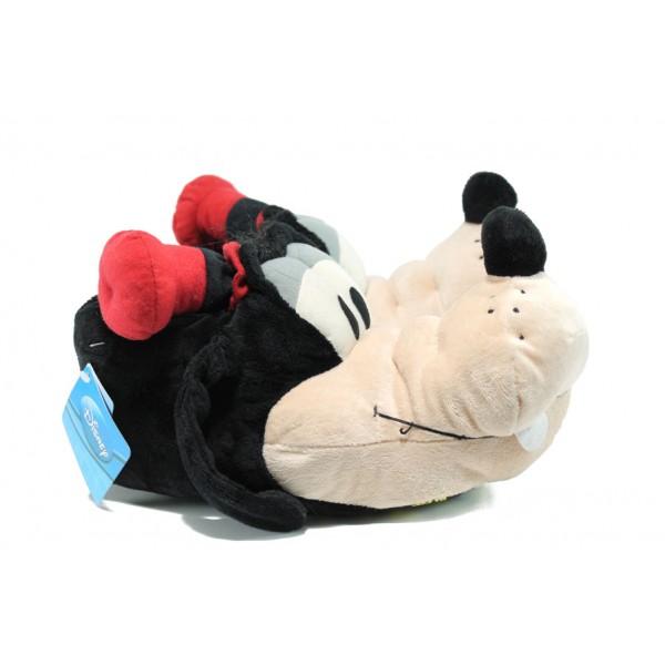 Анатомични домашни пантофи ДФ MOPPATOP2 черен | Домашни чехли | MES.BG
