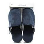 Мъжки анатомични чехли ДФ CAGLIARI M01 т.син | Домашни чехли | MES.BG