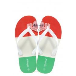 Мъжки гумени чехли между пръстите ДФ Intessillo3 флаг-ИТ