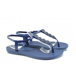 Дамски бразилски сандали Ipanema 81458 син | Бразилски чехли и сандали | MES.BG