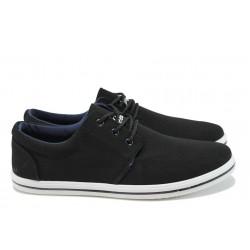 Мъжки спортни обувки ГК 30106 черен