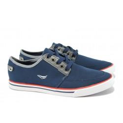 Мъжки спортни обувки ГК 30149-2 син | Мъжки ежедневни обувки | MES.BG