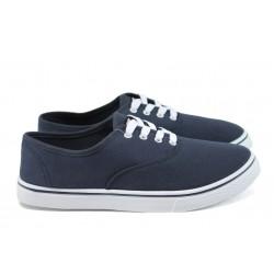 Мъжки спортни обувки /полукецове/ Runners 161-1001 син