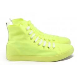 Летни платови кецове Runners YBK-1 жълт