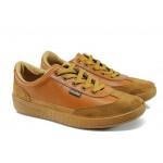 Мъжки спортни обувки МИ 111 св.кафяв | Мъжки ежедневни обувки | MES.BG