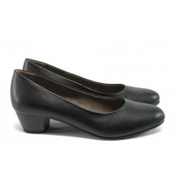 Класически дамски обувки за Н крак Jana 8-22360-26 черен