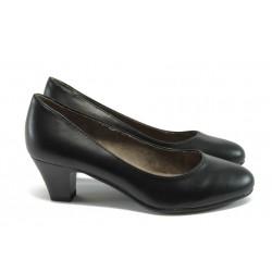 Класически дамски обувки за Н крак Jana 8-22463-26 черен